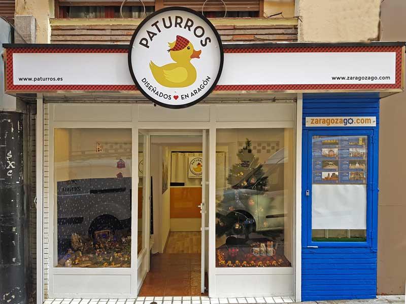 Tienda oficial Paturros Zaragoza