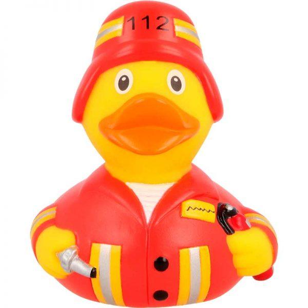 Comprar patito de goma bombero