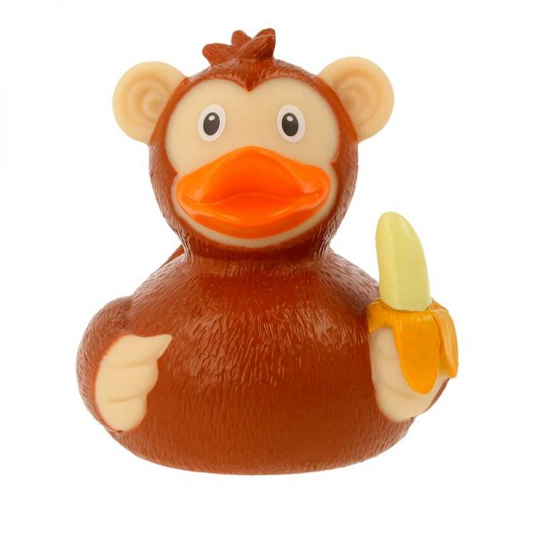 Comprar patito de goma mono