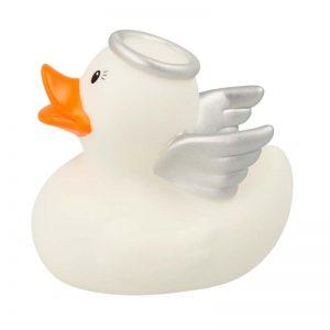 Pato de goma ángel