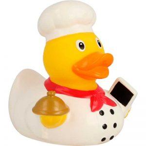 Pato de goma chef