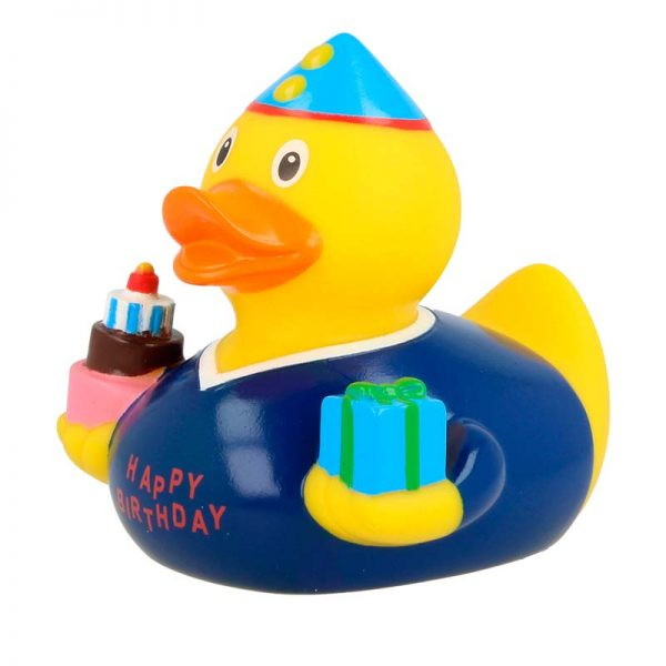 Pato de goma cumpleaños