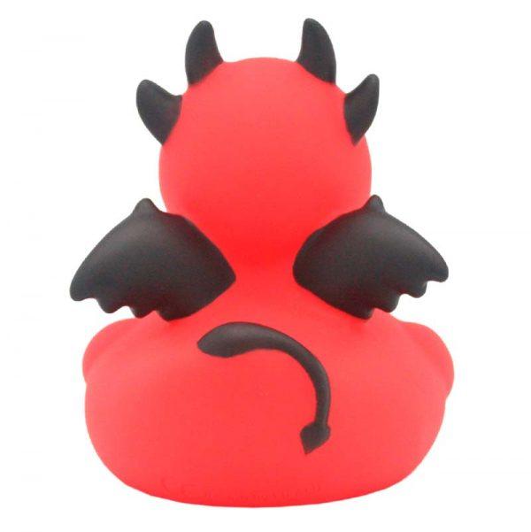 Pato de goma diablo