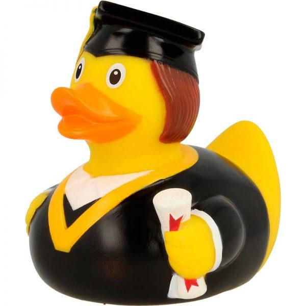 Pato de goma graduado