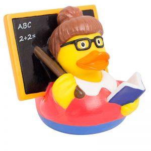Pato de goma profesora