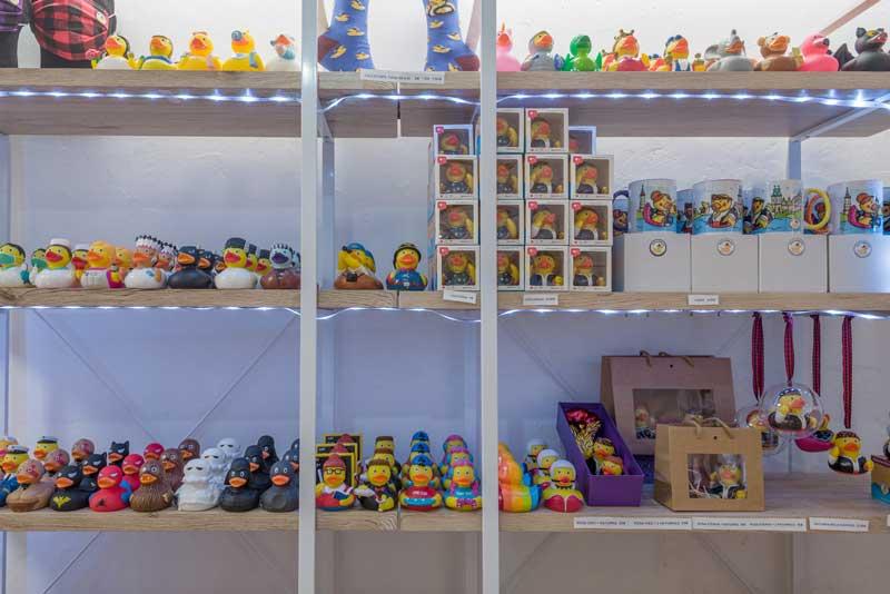 Tienda Patitos de Goma Zaragoza