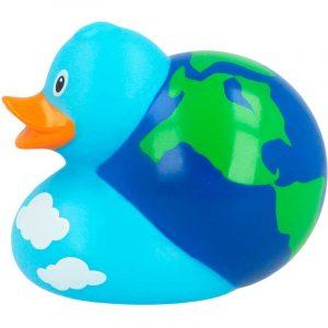 Pato de goma la Tierra