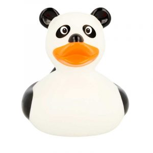 Patito de goma Panda