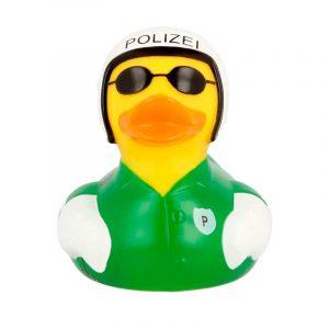 Pato de goma Policía motorista
