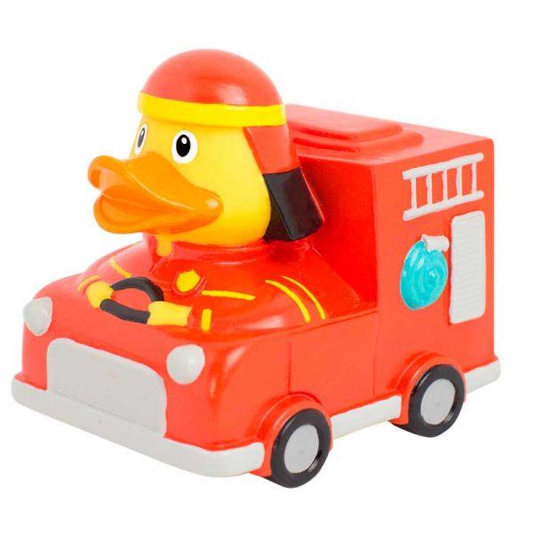 Comprar patito de goma camión de bomberos
