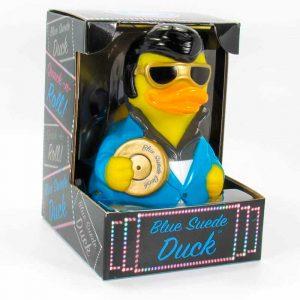 CelebriDucks Blue Suede Duck